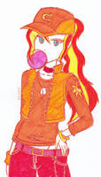 Casual Sunset Shimmer