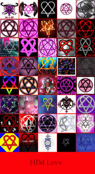 HIMLove Heartagram Collage