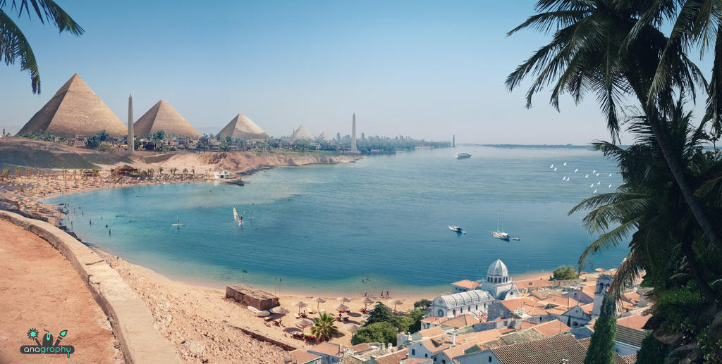 Egyptian Resort (With video making of !) by Anagraphy