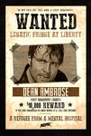 Dean Ambrose WANTED Custom Poster - [FEAR]