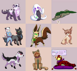 look at all these frands by ShiftingUniverse