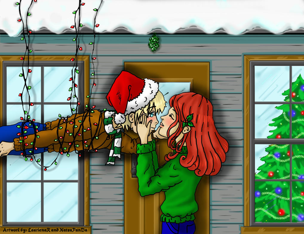 I'm My Own Mistletoe Collab with Natsu by CallMeFarGone
