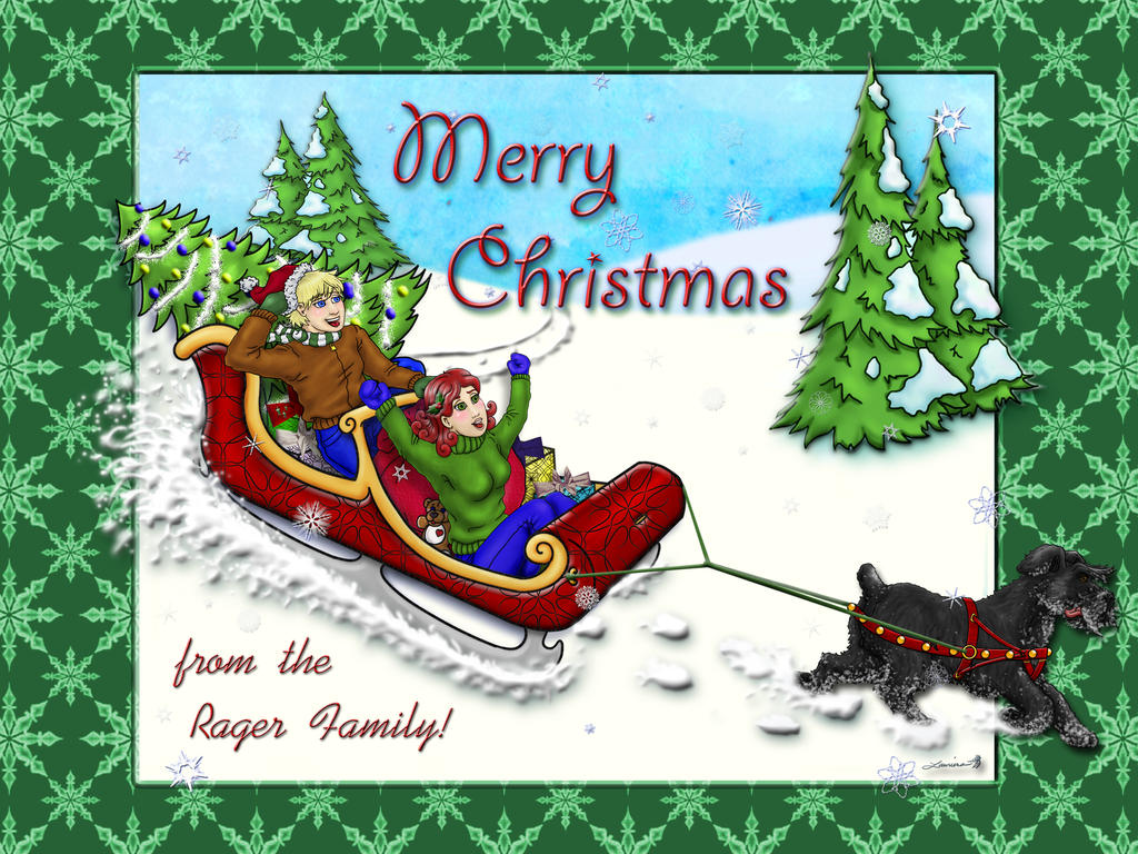 Merry Christmas Ride by CallMeFarGone