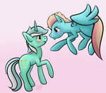 That Beautiful Mint-Green Mare