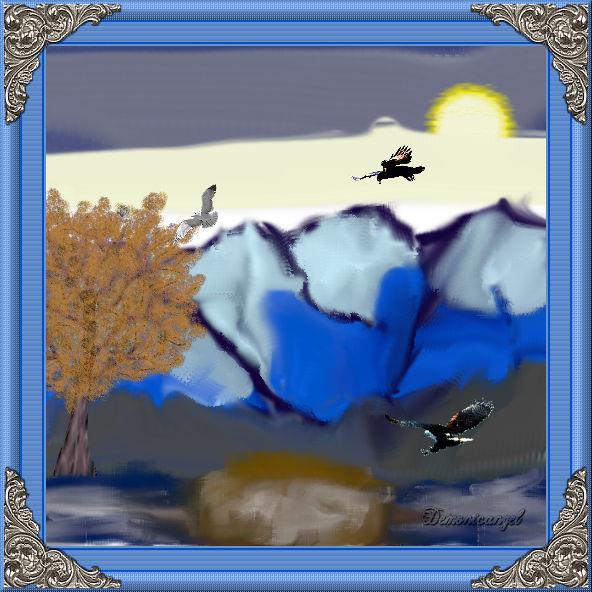 MountainSceneJenn by demonicangel327