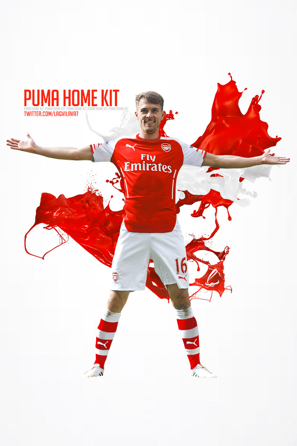 Arsenal Puma Kit 2014/2015 by Lagvilava on DeviantArt