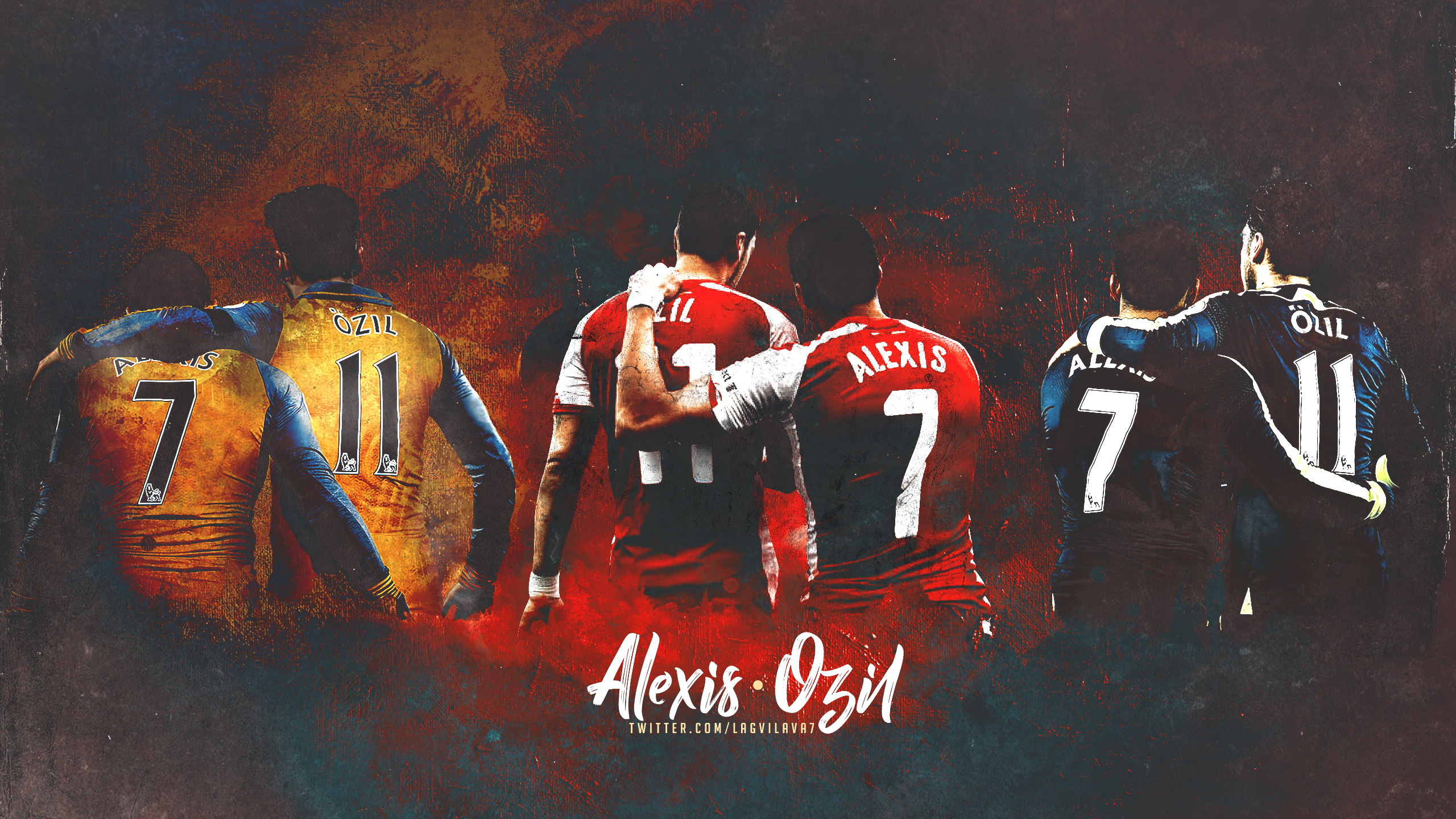 Mesut Ozil Alexis Sanchez By Lagvilava On DeviantArt