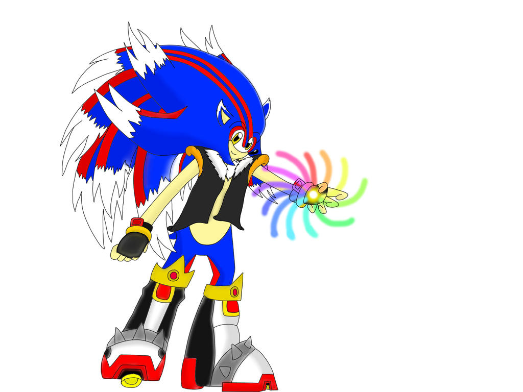 Shadic Fase 4 From Super Sonic X universe OVA 2 by Shadic68 on
