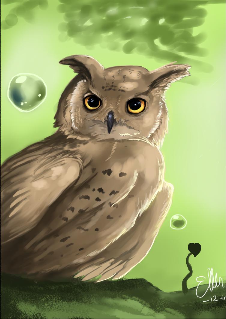 Owl by OwlDeerForest