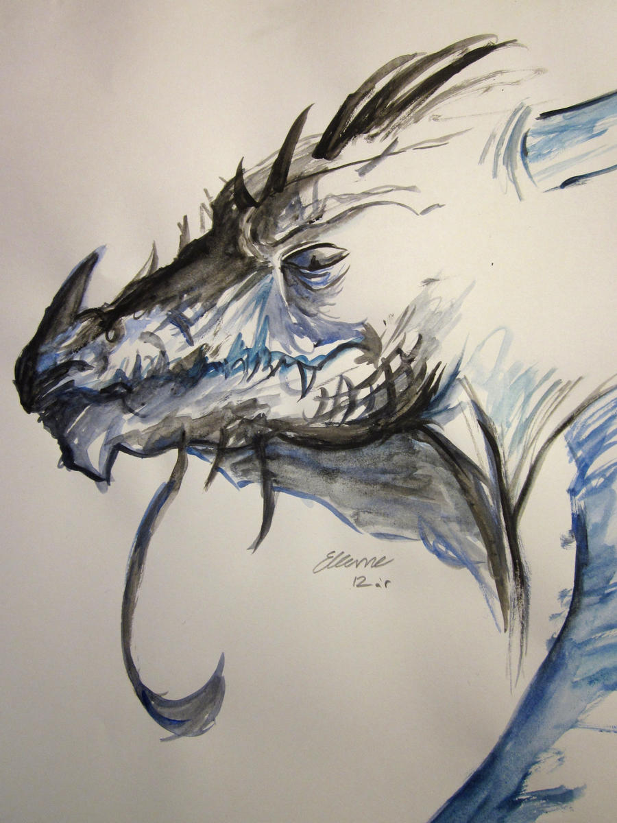 Watercolor Dragon By Owldeerforest On Deviantart