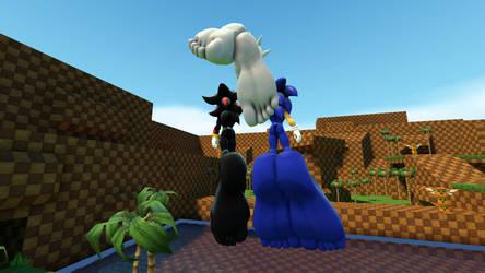 Sonic Silver Shadow (alt) by Jolly-villevillage