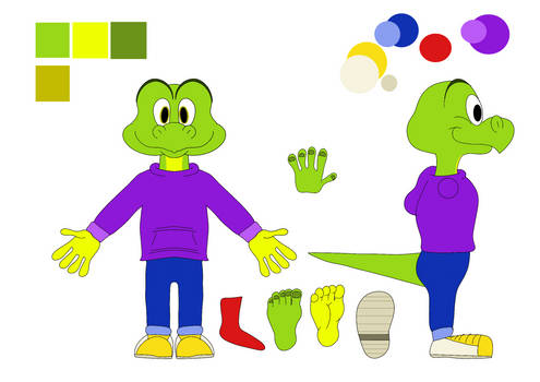 Jolly Ville model sheet