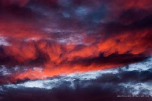Crimson Clouds by isischneider