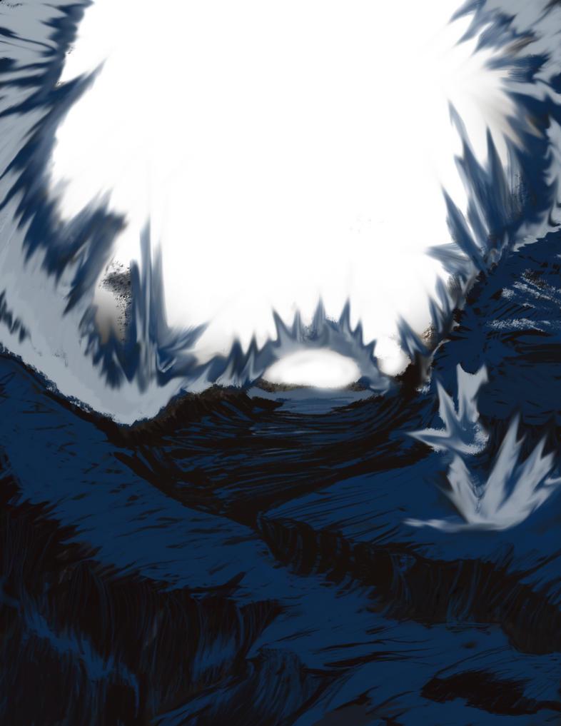 Landscape 1 hour - 1 by MilleniumPuppet