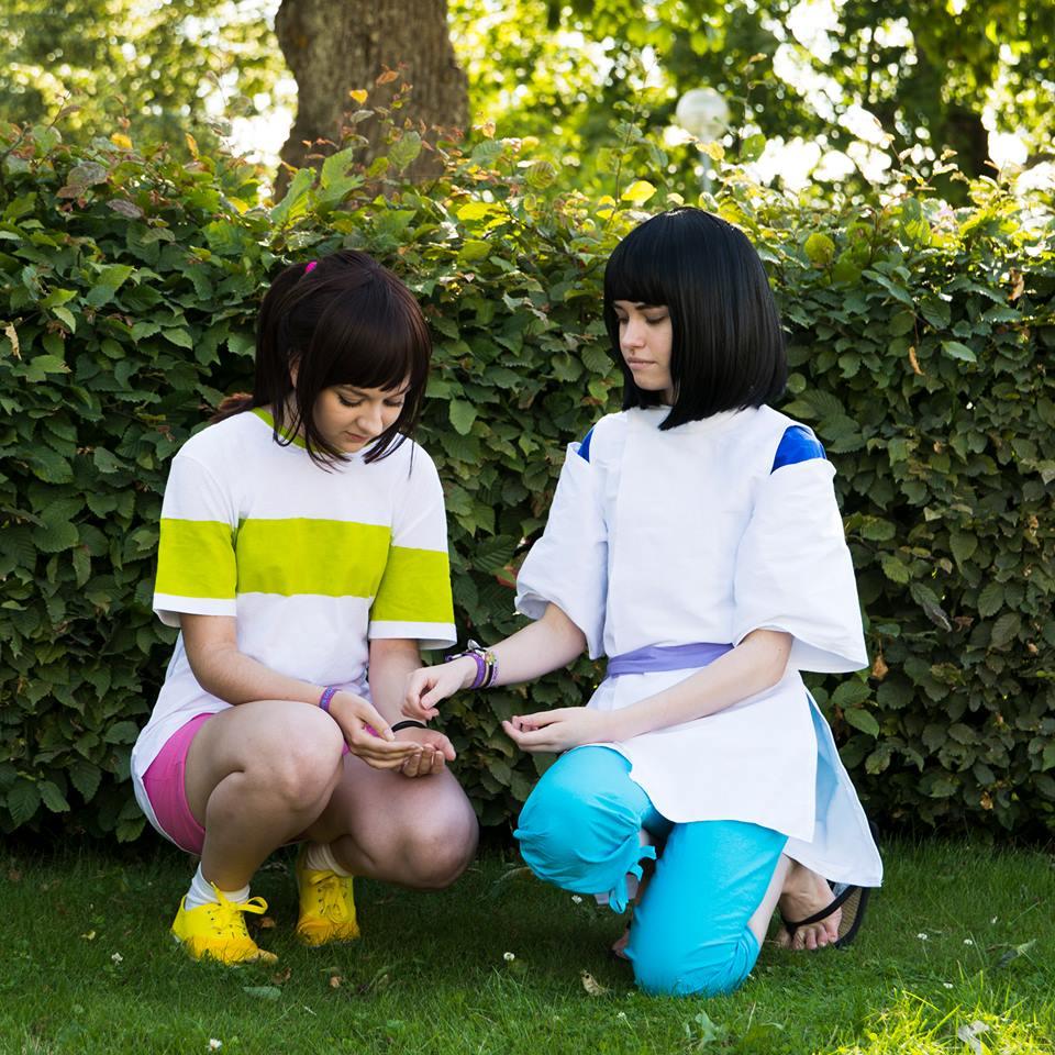 Spirited Away Cosplay Haku And Chihiro By Akohai On Deviantart