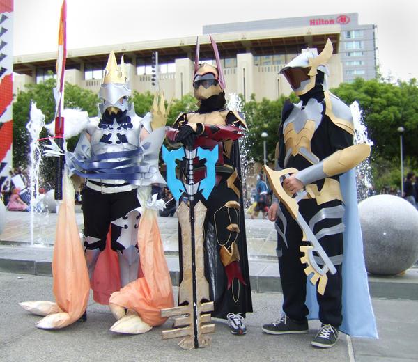 Kingdom Hearts: Armor Cosplay by thegadgetfish