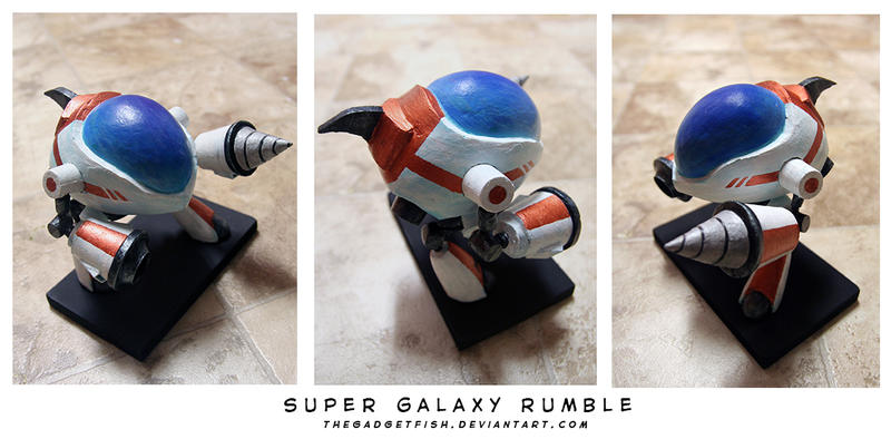 Super Galaxy Rumble by thegadgetfish