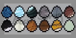 Pixel Egg Adopts - 3/12 OPEN by SongoftheWildBeast