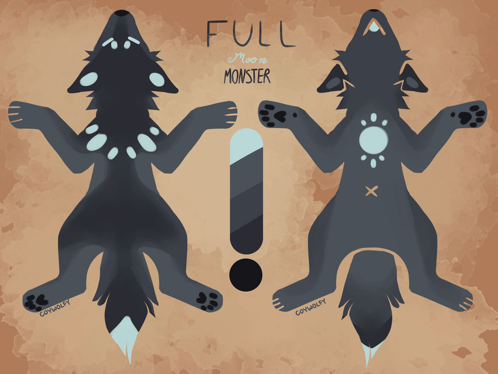 Cold Season Advent - Full Moon Monster - OPEN by