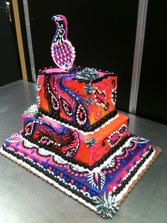 Peacock Wedding Cake.Peacock Wedding Cake By Theforest On Deviantart