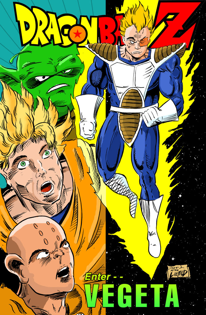 Rob Liefeld's Dragon Ball Z by strawmancomics