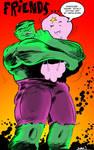 Hulk space princess by strawmancomics