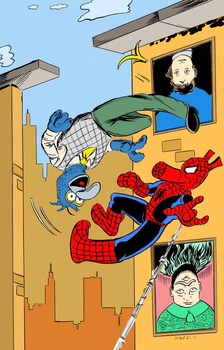 Web of Weird by strawmancomics