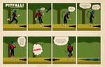 The Pitfalls of being Nightcrawler by strawmancomics