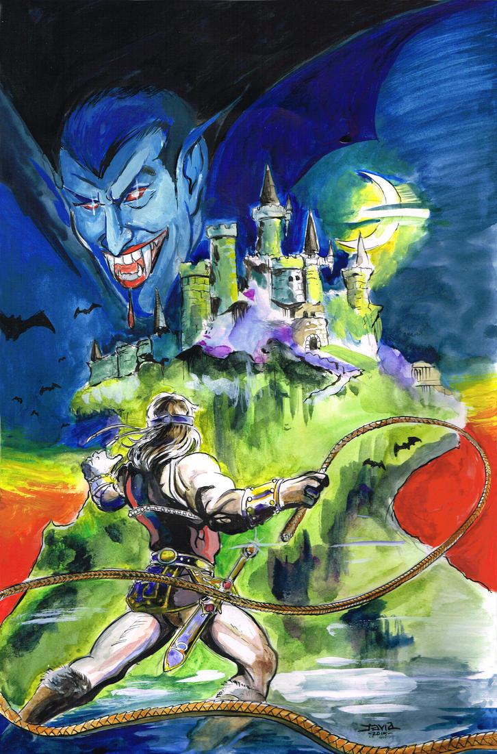 Castlevania by strawmancomics