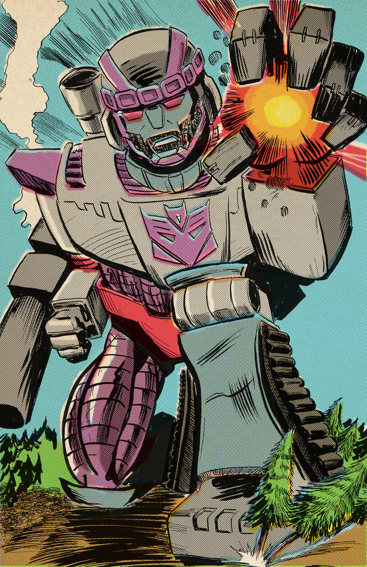 Mega Sentinel by strawmancomics