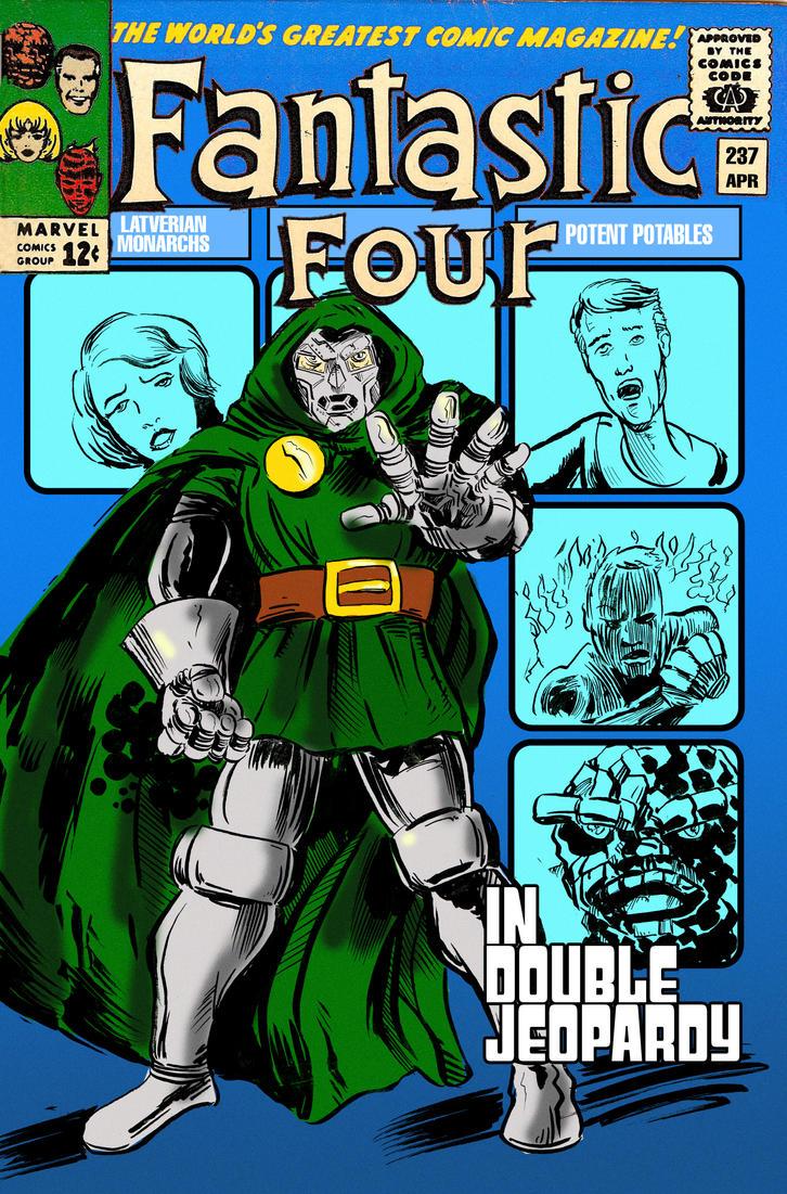 Doctor Doom: Double Jeopardy by strawmancomics