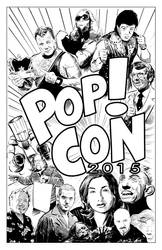 Pop! Con 2015 by strawmancomics