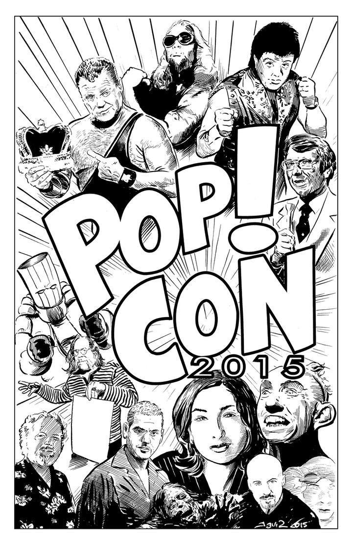 Pop! Con 2015 by strawmancomics
