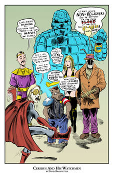 Cerebus and His Watchmen