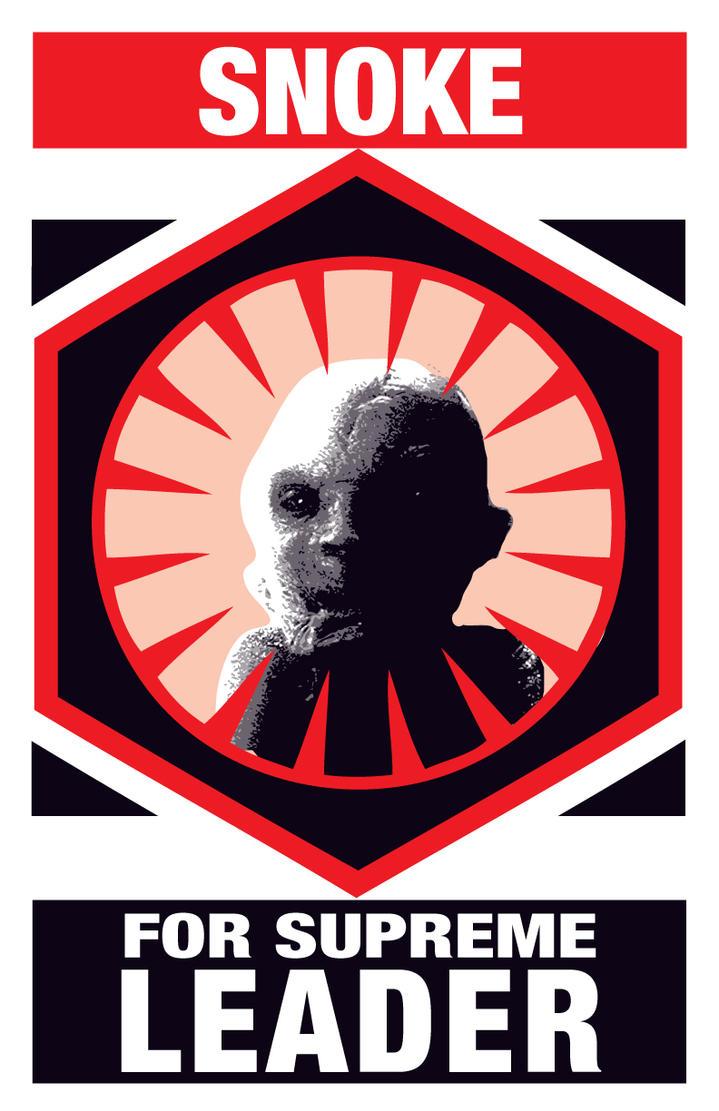 Snoke! For Supreme Leader by strawmancomics