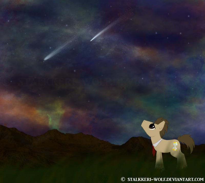 Starry Night by Stalkkeri-wolf
