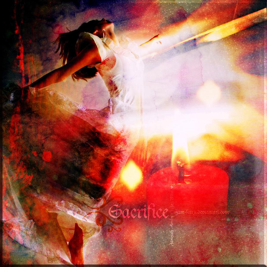 sacrifice. by JaM-FaiRY
