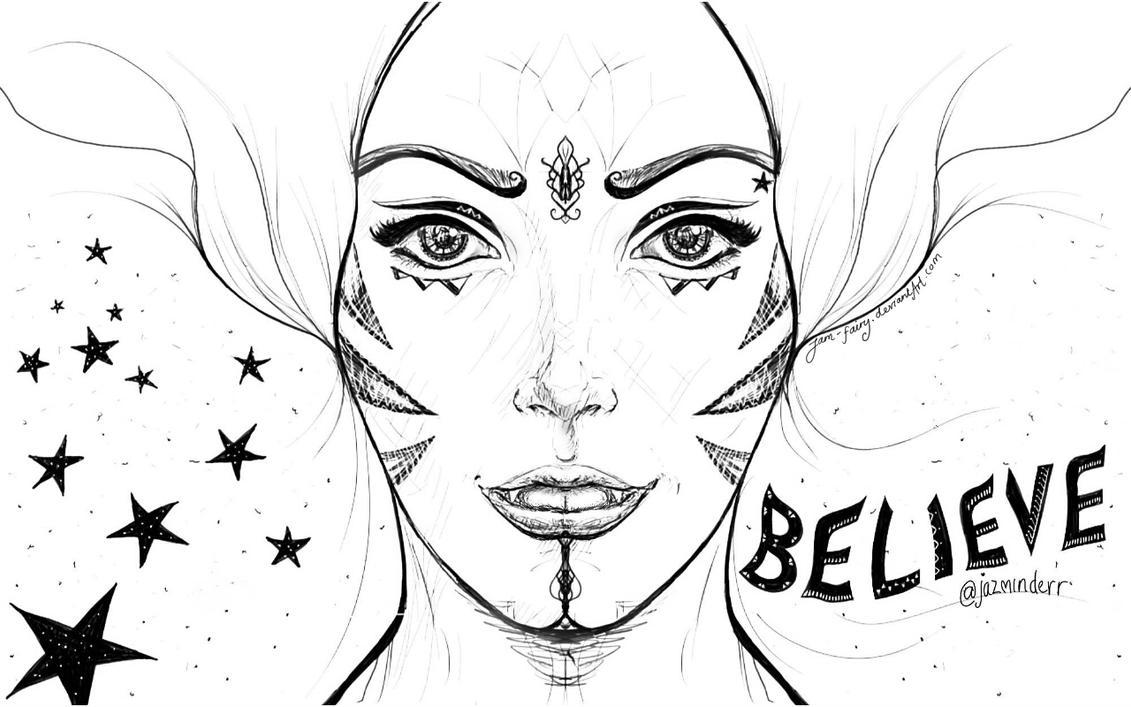 Believe Sketch by JaM-FaiRY