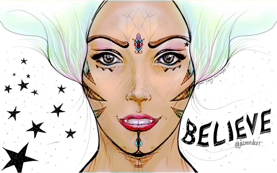 Believe Colour  by JaM-FaiRY