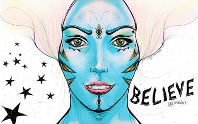 Believe Colour 2 Avatar