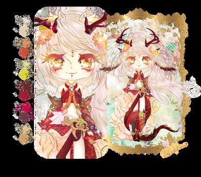 Adoptable: draconic goddess [CLOSED] by Hiiranee
