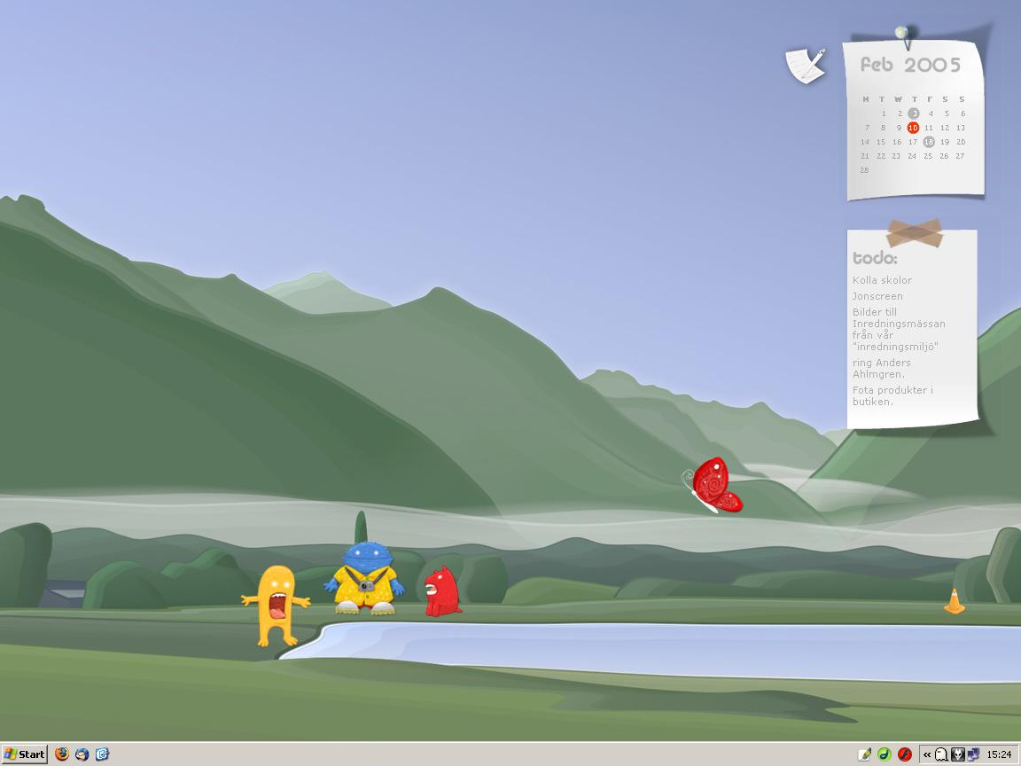 CleanDesktopV02 by TwistedPixel