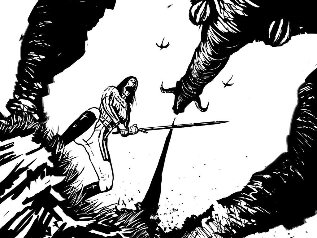 Dragon Slayer by MatthewHuntley
