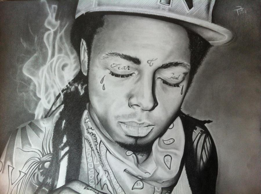 Pencil Drawings Of Lil Wayne Lil Wayne by tybo231