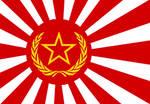Communist japanese flag.