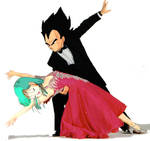 Vegeta and Bulma tango