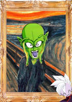 Piccolo is... THE SCREAM by amaranthe333
