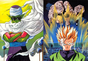 piccolo and gohan trade faces2 by amaranthe333