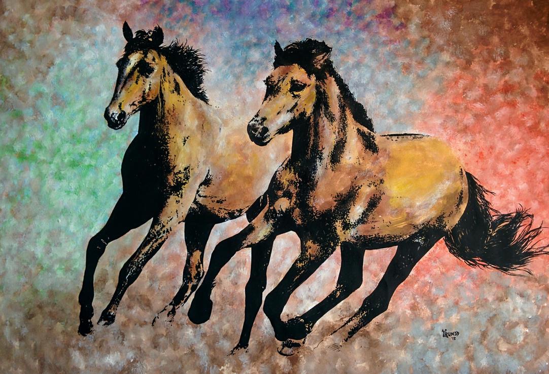 Horses by yrumad