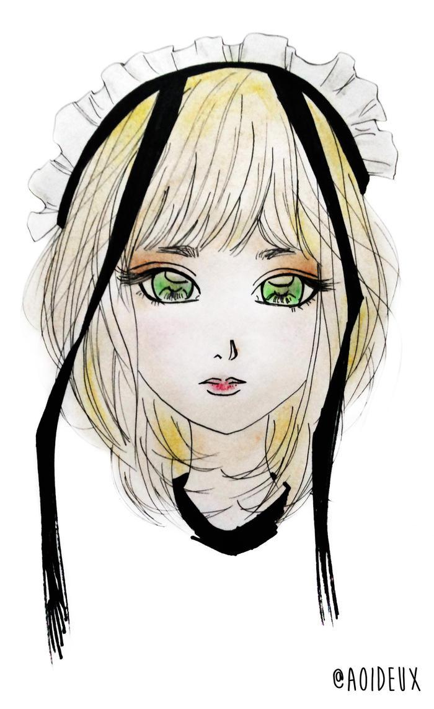 A Girl by chitjahjono